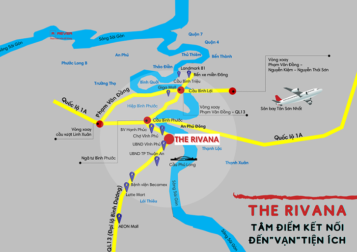 Vị tri The Rivana